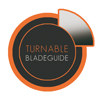 TURNABLE blade-guide